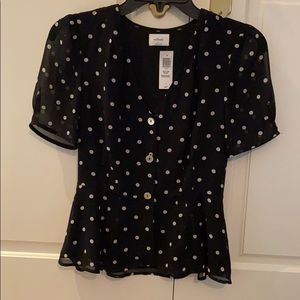 Wilfred Button Front Top